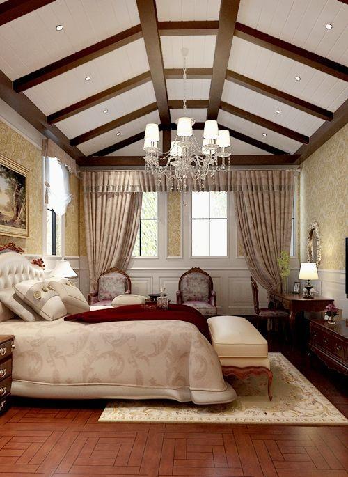 尚层装饰案例分享:女儿房的美式雅致风格,符合业主女儿气质的设计,将气质融入家居,沉稳而典雅。