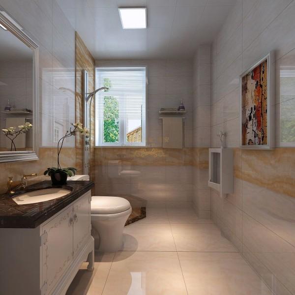 卫生间图片来自西安城市人家装饰王凯在融侨城144平米现代风格装修