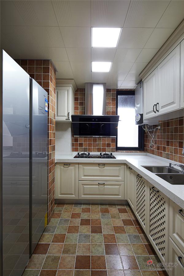 高端大气的厨房有木有啊