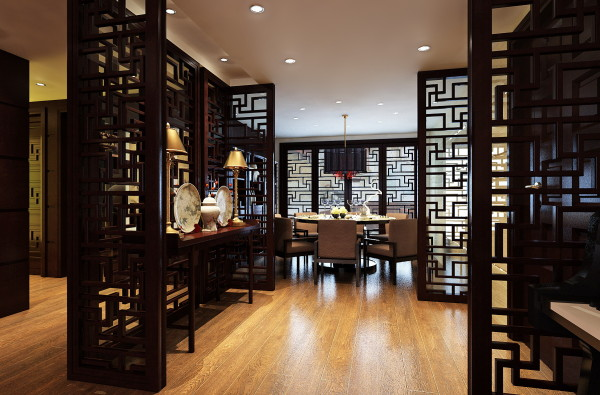银海苑215平米文化设计今朝装饰