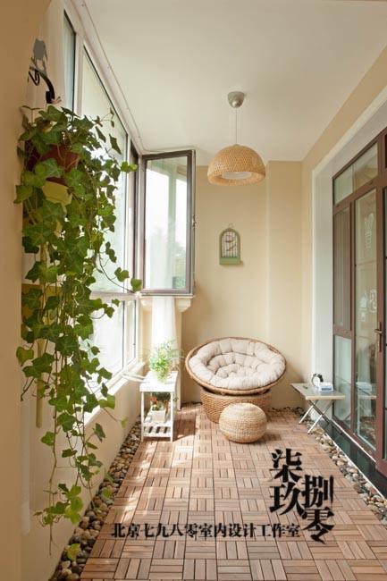 七九八零室内设计机构,欧式风格,阳台设计