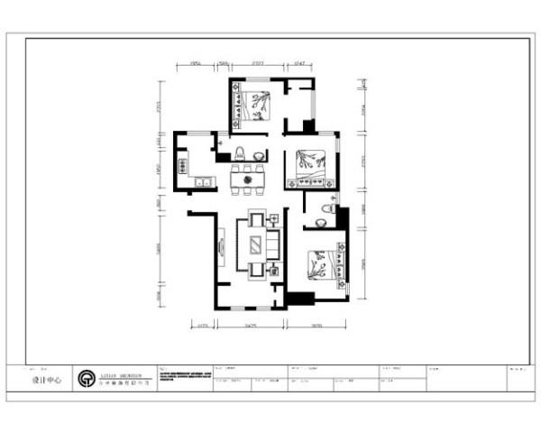 布局说明 本案为钱隆学府一期6层花园洋房标准层的户型,建筑面积为120平米,总工会包括3室2厅2卫1厨 ,首先,一进门左手边是餐厅厨房的位置,紧挨着的餐厅的是卫生间,和一间卧室及卧室阳台的位置,