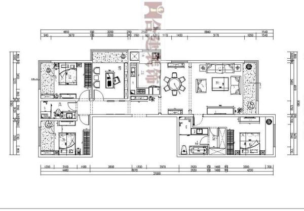 本户型分布在10-12号楼的东西两侧,采光还是比较好的,户外视野比较开阔。对于家庭人口多,卧室需需求多的家庭,可能书房的利用率会下降,而对于人口少的家庭,书房可以和卧室打通,做一个套间
