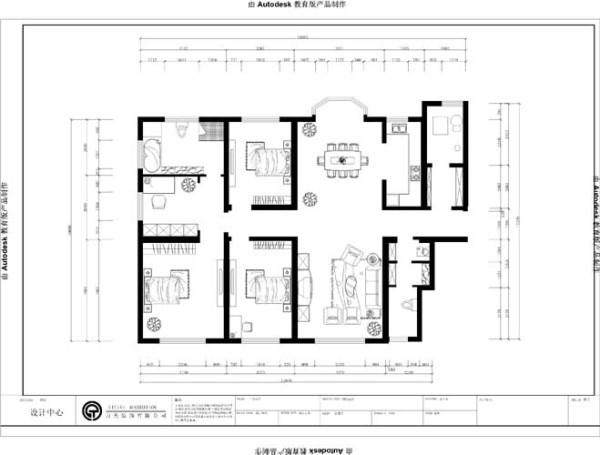 户型分析     本户型为四室两厅两卫的212平米的平层大户型。该户型空间大,结构布局合理,采光通风好。餐厅配有飘窗,可容下八人餐桌,客厅与餐厅形成南北通透,两个次卧整齐排列,