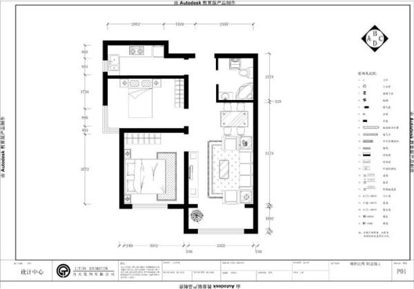 首先一进入户门右手边是厨房,左手边是卫生间,接着就是次卧与主卧相连,餐厅与客厅相连,客厅带阳台,家具布置与空间密切配合,以简洁明快为主要特色,使室内布置富有时代感和整体美,