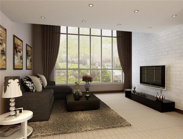 客厅顶部喜用大型灯池,并用华丽的枝形水晶吊灯营造气氛。后现代风格装饰的房间仍选用线条简洁,所以沙发背景墙选用看上去比较厚重的艺术毛石,才能与之匹配烘托奢华效果。