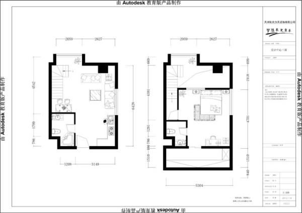 户型分析:     本户型为上下跃层户型。入户门进来之后没有独立的玄关区域,右手边是开敞式厨房,左手边是卫生间。从一层上楼之后即是主卧区域,有独立的卫生间和衣帽间,满足业主的居住需求。