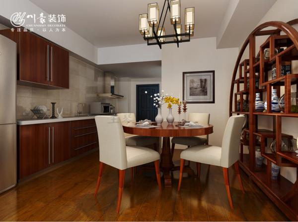 富士广场A座89㎡装修设计 餐厅效果图,合肥川豪装饰设计,最好的装修公司。