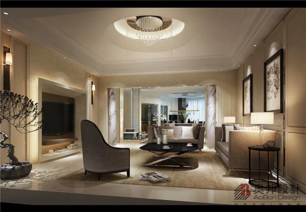 客厅的设计舒适的欧式简约沙发