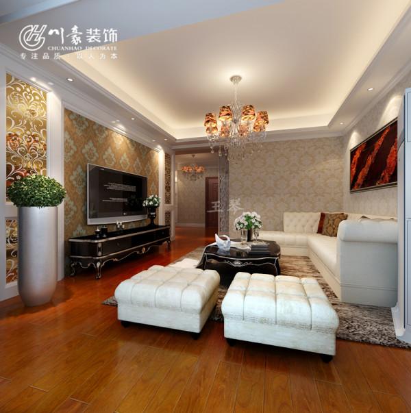 铂金汉宫90㎡实用装修设计 合肥川豪装饰设计,量身打造。