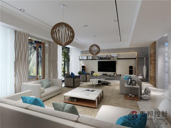客厅的大景图片,简约时尚国际范