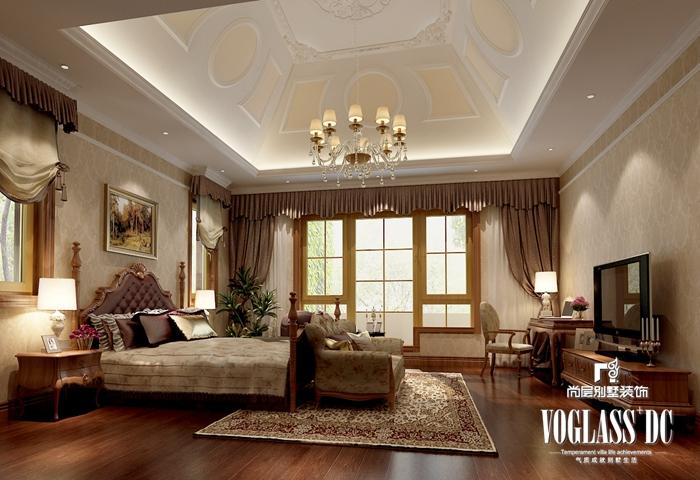 别墅 古典欧式 客厅 卧室 餐厅 酒吧 卧室图片来自北京别墅装修案例在图片