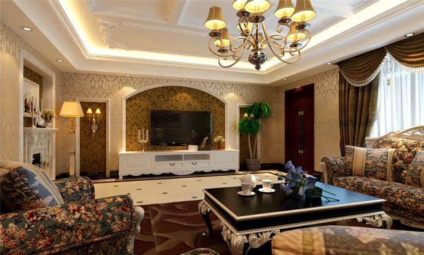 餐厅空间的设计讲究且划分简单合理,有效的分割客厅和敞开式西厨,给人们更充裕的自由活动空间,使家庭氛围更加愉悦。