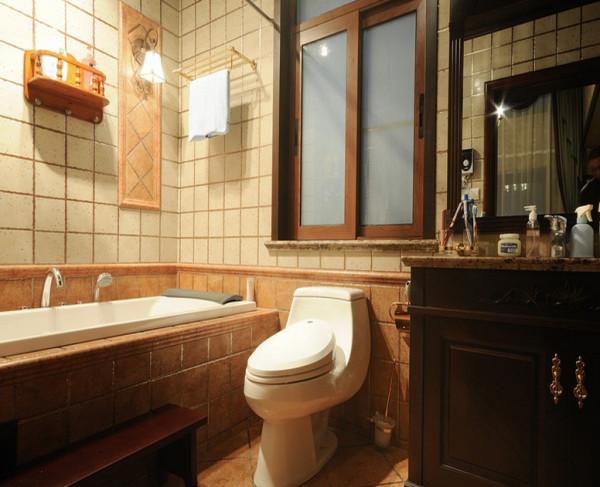 海棠湾128㎡装修设计案例 卫生间装修图片