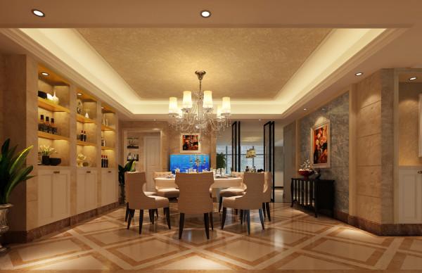 餐厅的设计融入了一现在现代简约的元素,使整体的功能性得以大大提高,更贴近现代人的生活,宽广的厨房门,更是增添了家里面空气的流通。南北对流的房型设计,给我们带来的是生活的品质。