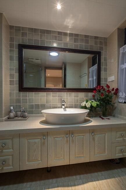 圆形洗手盆,漂亮、