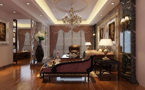 130平方米3房2厅家装效果图,源自简欧风格的设计理念。这套房子设计的非常精炼,无论是从色彩,还是布局,以及设计技巧来说,都堪称是一件活生生的艺术品!
