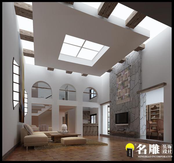 名雕装饰设计—地下室休闲厅