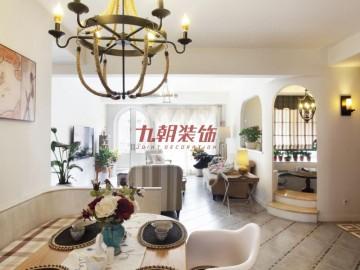 九朝装饰曲江梧桐苑150田园风范