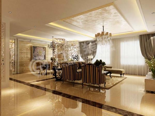 客厅电视背景墙由二十个具有现代特色的方格组成,尽显主人魅力