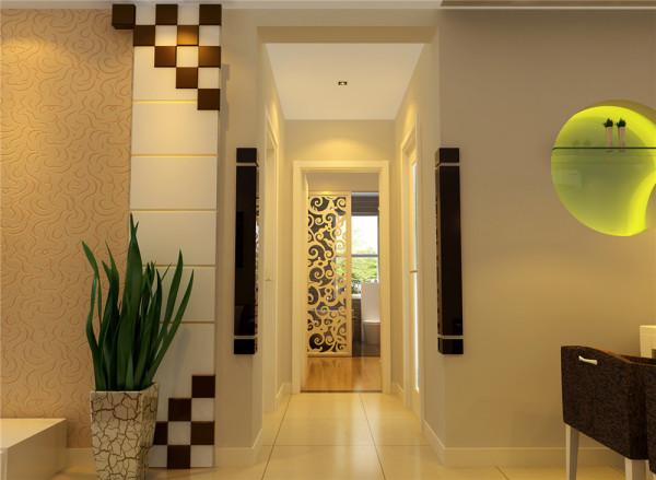 过道造型设计简洁大方,用艺术的玄关及造型等元素,包裹整个空间,将整个房间的气质表现的淋漓尽致,透露出无与伦比的艺术魔力。