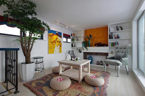 """""""二楼的休闲区,一个好地方\n打牌、喝茶、坐禅、看书、听音乐,随便你。。。"""""""