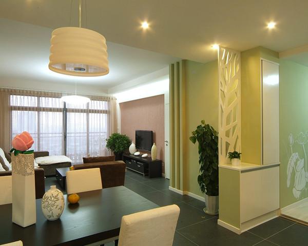 顶面吊顶造型,电视墙基装项目以及材料,石膏线,波导线,踢脚线,客厅窗