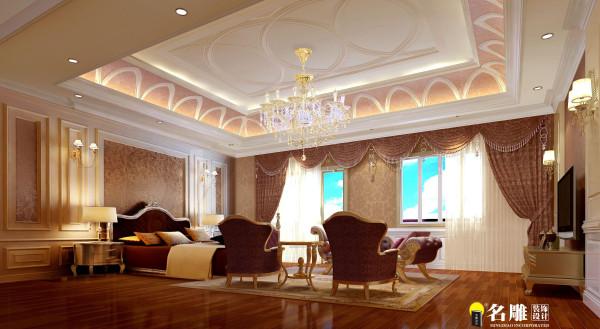 名雕装饰设计—简欧风格-卧室
