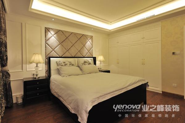 郑州天地湾别墅装修实景样板间,本套设计有业之峰总部设计团队设计,整体风格定位古典欧式次卧的设计简单明快。这个房间居住的是保姆房子。