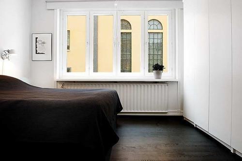 """""""能接受黑白配的最高境界也许在于,你能否在纯黑的床单里睡个好觉!"""""""