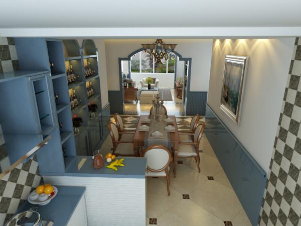 唯美雅致的餐厅,高挑的设计,精美的酒柜,餐厅和客厅的相通,扩大了空间的视野范围,是的心情舒适,坦然。