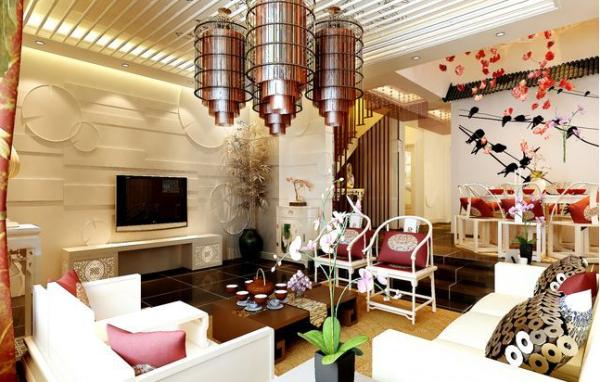 别墅 收纳 二居 欧式 白领 简约 客厅图片来自2014shangyao在五月花城
