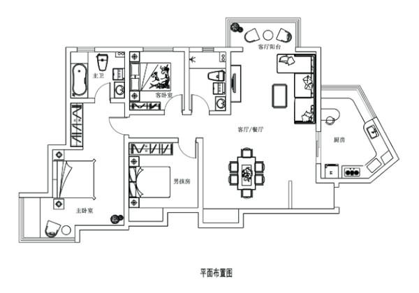 本户型位于郑州市中央特区7号楼户型图,施工单位;郑州业之峰装饰公司;设计单位;郑州业之峰高端设计部;户型结构比较方正,缺点入户门正对餐厅,主卧室比较狭长。