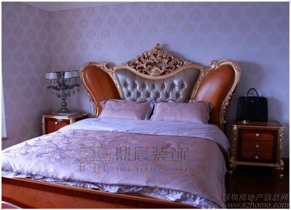 鼎宸装饰经典之作——豪华帝王般的床
