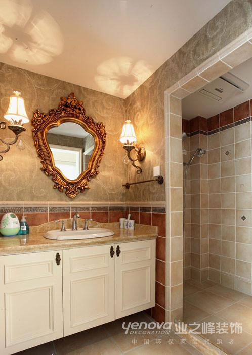 卫生间,独具匠心的设计,温馨神秘,高雅。