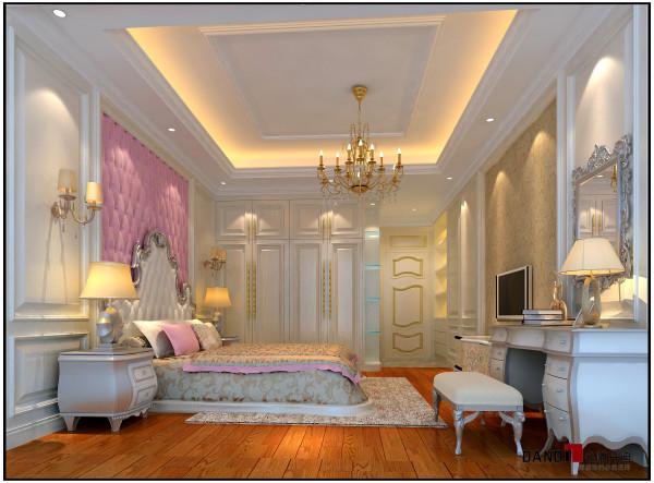 名雕丹迪设计——御泉山别墅——欧式风格——儿童房