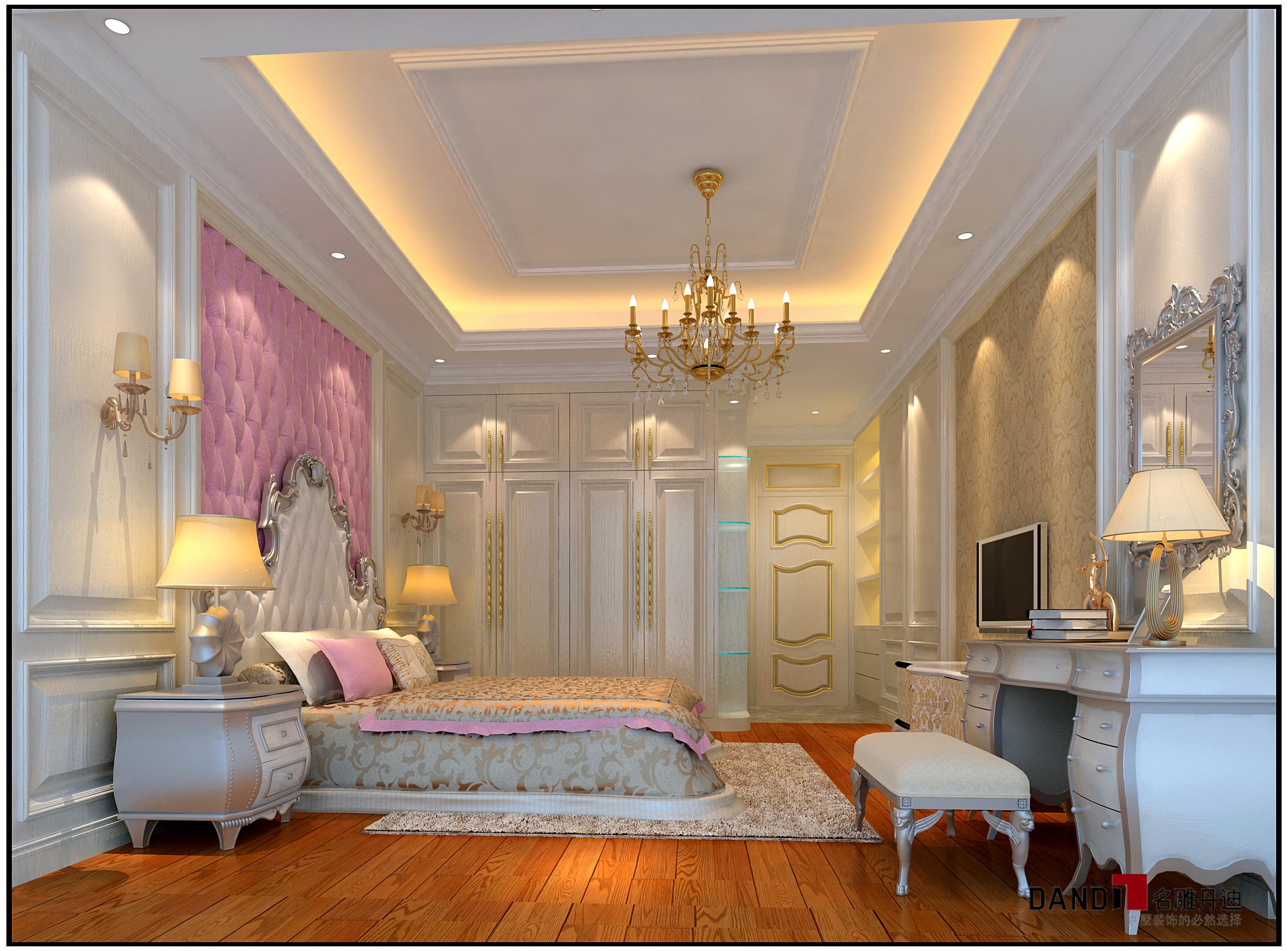 别墅装饰 豪宅装修 卧室 儿童房图片来自名雕丹迪在欧式风格—780豪华