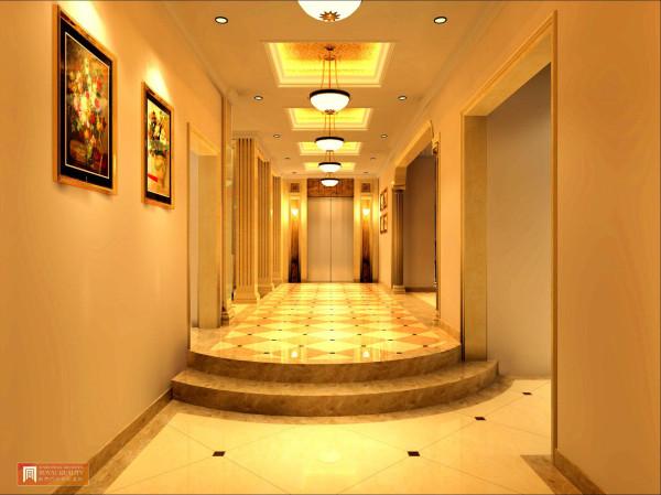 电梯的玄关