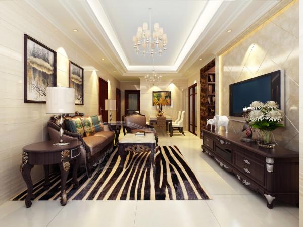 地砖上墙的设计,加上石材的有利运用,搭配颜色沉重的家具,使得整个空间大气,低调。
