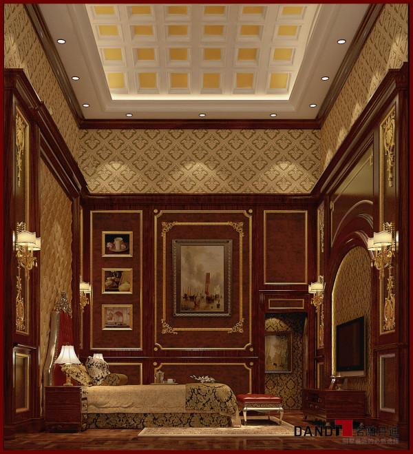 名雕丹迪设计--帝景湾--欧式卧室
