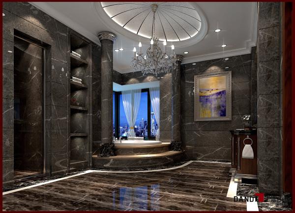 名雕丹迪设计--帝景湾--欧式卫生间