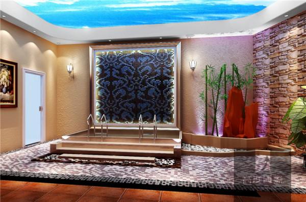 地下休闲区   本设计根据业主需求、喜好与设计师对整个小区风格的把控,设计风格定为欧式风格 香江别墅案例,整套风格理念中融入了大量的欧式元素。