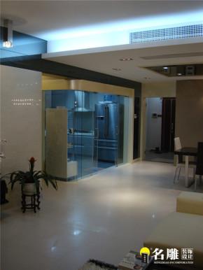 现代 三居 白领 80后 名雕装饰 文艺青年 厨房图片来自杜鸿业----名雕丹迪设计总监在现代风格-140平时尚温馨三居室的分享