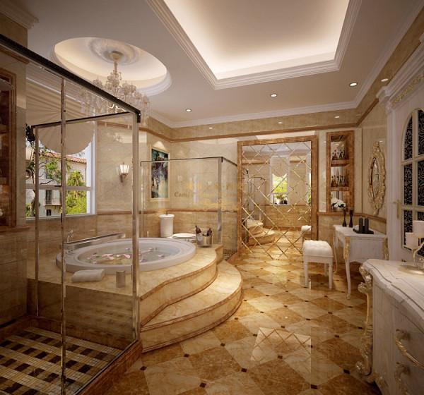 豪华 卫生间图片来自西安城市人家装饰王凯在企业老总的豪宅装修法式