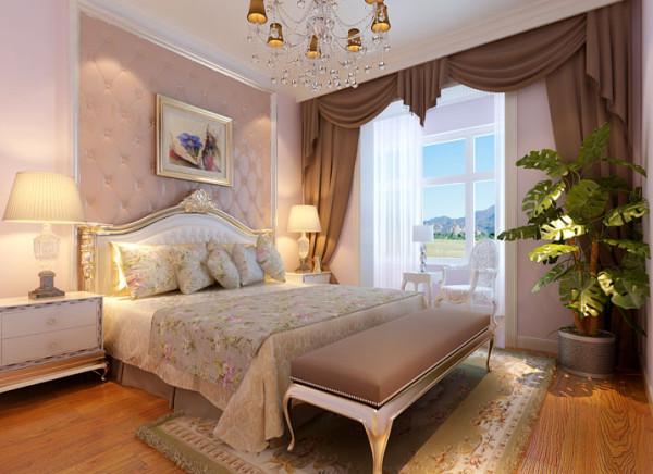 设计理念:卧室是人们休憩的地方,简单明了的点缀才会让人们心情愉悦轻松。