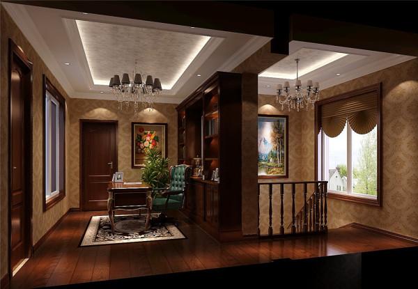 简欧洋房复式鲁能七号院案例楼梯装修效果图片_装修美