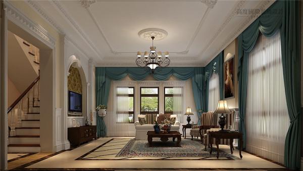 客厅简欧装饰