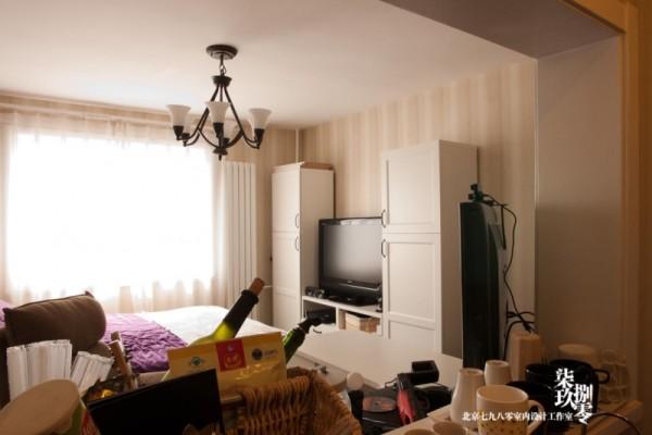 七九八零,小户型设计 ,蜗居设计,旧房改造,七九八零设计工作室,卧室设计