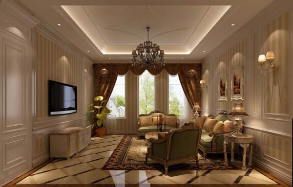 小客厅,客人人数少时用它接待更显亲近