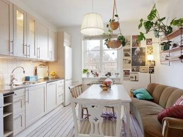 简洁的单身公寓